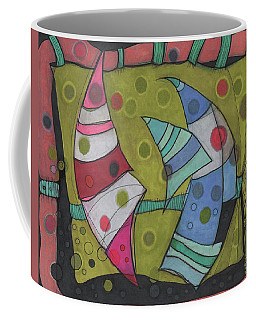Going In Circles Coffee Mug by Sandra Church