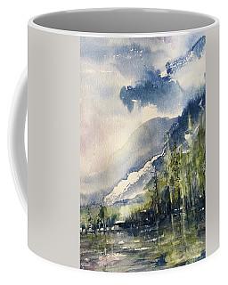 Going To The Sun Road Glacier National Park Montana Coffee Mug