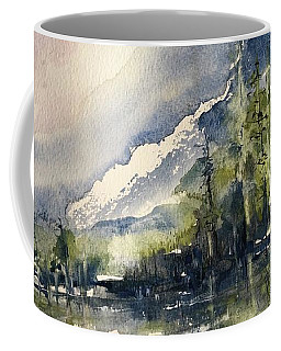 Going To The Sun Road Glacier National Park Montana Coffee Mug