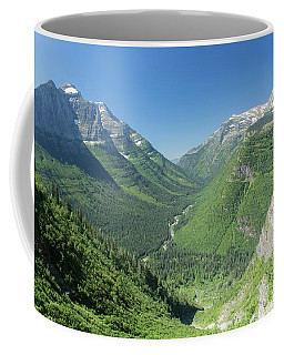 Going-to-the-sun Road Mountain Valley Coffee Mug