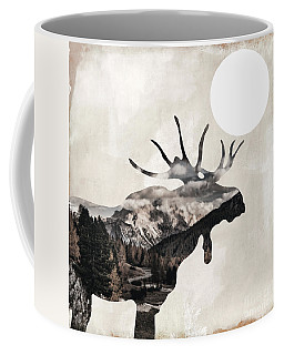 Going Wild Moose Coffee Mug