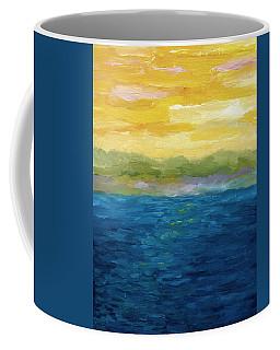 Gold And Pink Sunset  Coffee Mug