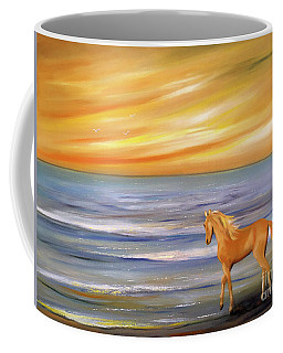 Gold And Silver Coffee Mug