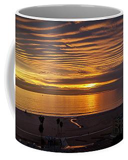 Gold Bars Across The Sky Coffee Mug