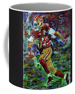Gold Blooded 49ers Coffee Mug by Walter Fahmy