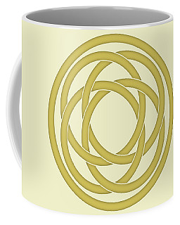 Gold Celtic Knot Coffee Mug