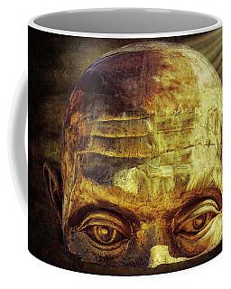 Gold Face Coffee Mug
