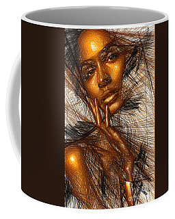 Gold Fingers Coffee Mug