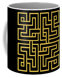 Gold Geo 6 Coffee Mug
