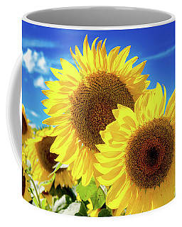 Coffee Mug featuring the photograph Gold by Greg Fortier
