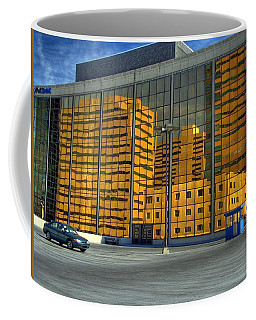 Coffee Mug featuring the photograph Gold In The Bank by Farol Tomson