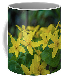 Coffee Mug featuring the photograph Gold In The Marsh by Bill Pevlor
