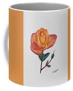 Gold Medal Rose Coffee Mug