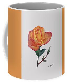 Gold Medal Rose Coffee Mug