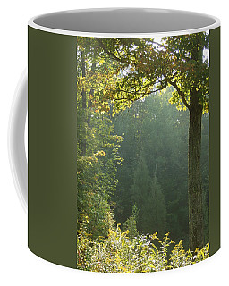 Gold On Green Coffee Mug