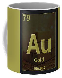 Gold Periodic Table Coffee Mug