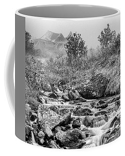 Gold Rush Mining Shack In The Alaskan Mountains Coffee Mug