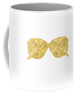 Gold Shades- Art By Linda Woods Coffee Mug