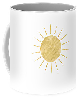 Gold Sun- Art By Linda Woods Coffee Mug