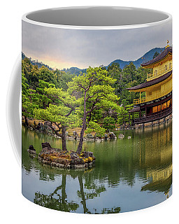 Coffee Mug featuring the photograph Gold Temple,  by Rikk Flohr