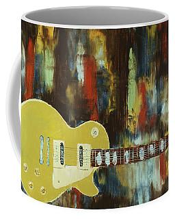 Gold Top Abstract Coffee Mug