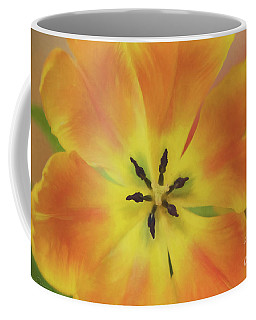 Gold Tulip Explosion Coffee Mug