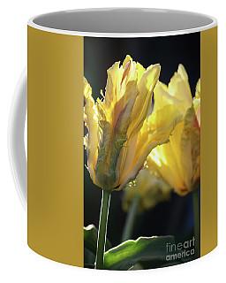 Gold Tulips Coffee Mug by Mary-Lee Sanders