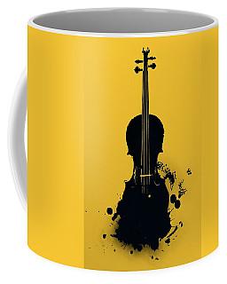 Gold Violin Coffee Mug