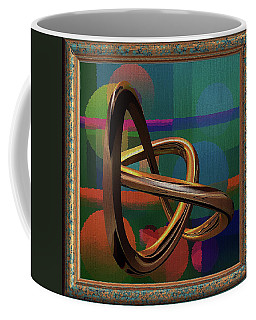 Golden Abstract Coffee Mug