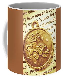 Golden Alignment In Leo Coffee Mug