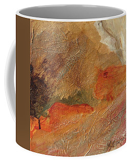 Golden Amber Coffee Mug