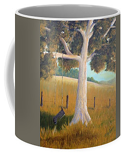 The Shadows Of Childhood Coffee Mug by T Fry-Green
