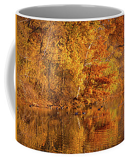 Golden Autumn Coffee Mug