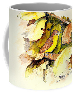 Golden-bellied Flyeater Coffee Mug
