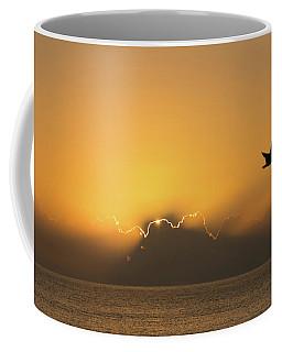 Golden Bird Sunrise Delray Beach Florida Coffee Mug