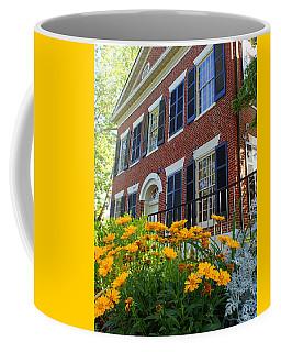 Golden Blooms At The Dahlonega Gold Museum Coffee Mug