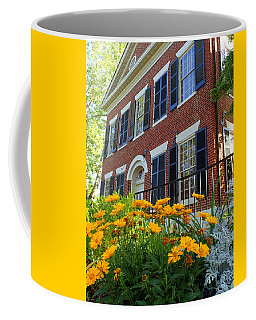 Golden Blooms At The Dahlonega Gold Museum Coffee Mug