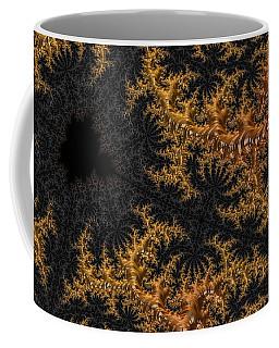 Golden Branching Moss Coffee Mug