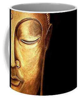 Golden Buddah Coffee Mug