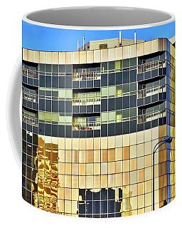 Golden Building In Anchorage Coffee Mug