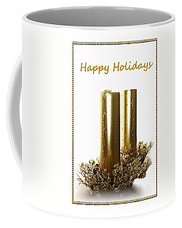 Golden Candles Coffee Mug