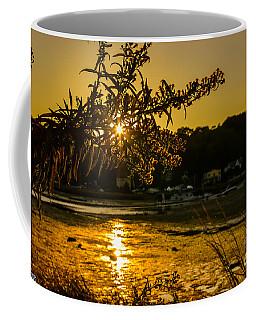 Golden Centerport Coffee Mug