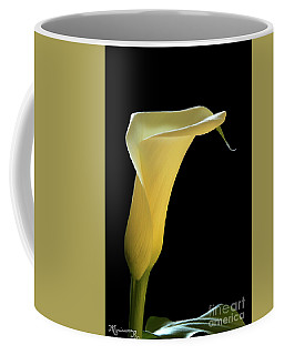 Coffee Mug featuring the photograph Golden Chalice by Mariarosa Rockefeller