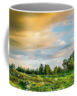 Golden Clouds Coffee Mug