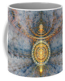 Golden Compass Coffee Mug
