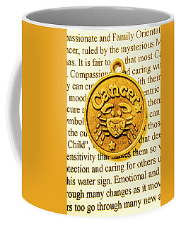 Golden Crab Cancer Coffee Mug