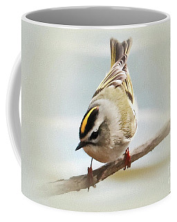 Golden-crowned Beauty Coffee Mug