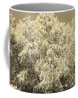 Golden Cypress - Sepia Coffee Mug