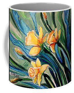 Golden Daffodils Coffee Mug
