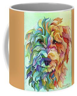 Golden Doodle Coffee Mug by Sherry Shipley